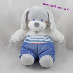 Stuffed dog TEX Marine crossroads anchor blue grey 25 cm
