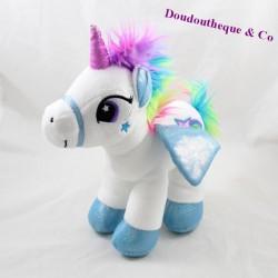 FIZZY Blue-white sky unicorn 28 cm