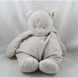 Nouky Bär Handtuch NOUKIE'S Grey Star Powder 26 cm