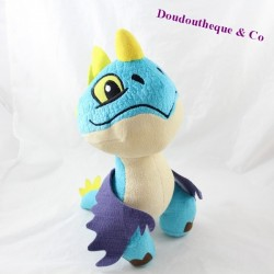 Peluche tempête DRAGON 2 Dreamworks dragon bleu 32 cm