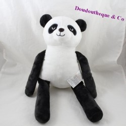 Peluche panda Z Kidiliz group blanc noir 40 cm