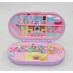 Polly Pocket BLUEBIRD Oval Oval Stamps Purple School