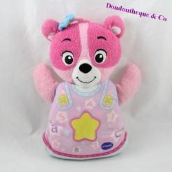 VTECH Bear Activity Cub My Wonderful Pink Music and Light Cub 22 cm