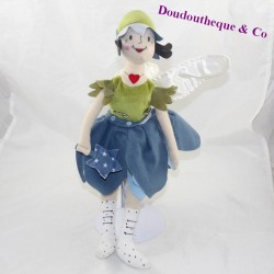 IKEA blue green fairy doll 40 cm
