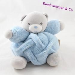 Musical Doudou Bear KALOO Blue Feather 18 cm