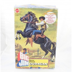 Horse Hurricane MATTEL Big Jim vintage toy Tornado