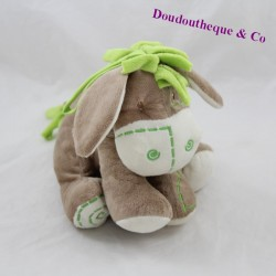 INWARE donkey towel green brown 18 cm