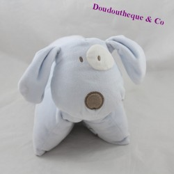 Stuffed cushion dog OBAIBI blue white cockroach OB 30 cm