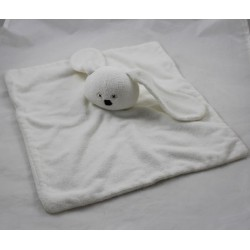 Fluffy rabbit HEMA white sponge eyes cross 35 cm