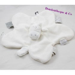 Doudou flat cow Lola NOUKIE'S White star powder 33 cm