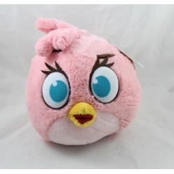 Stella bird peluche ANGRY BIRDS pink velvet 25 cm