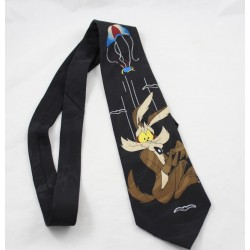 Vil homme tie the coyote WARNER BROS Looney Tunes black brown