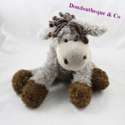 NICI donkey towel brown brown hairs 28 cm