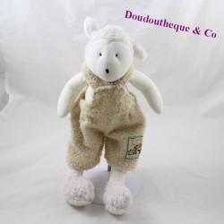 Doudou mouton MOULIN ROTY La grande famille beige 30 cm