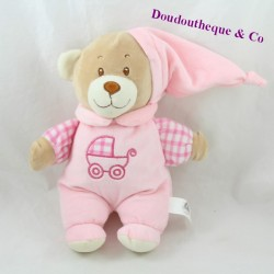 LOVE DODO Bear Cub Mgm Pink Cradle Baby Strap 27 cm