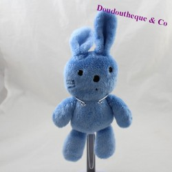 Baby GAP black blue rabbit 21 cm