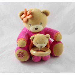 Musical jacket KALOO and her baby sign Chinese pink 18 cm