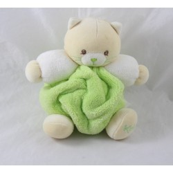 Doudou cat KALOO budderball Mint green feather 20 cm