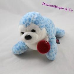 TRUDI blue white collar red seal 27 cm