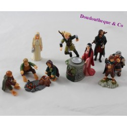 Lot figurine KINDER The Lord of the Plastic Rings