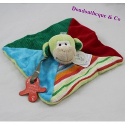 Doudou flat Mo monkey HAPPY HORSE multicolor 23 cm