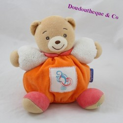 Doudou ball bear KALOO Ethnic orange 18 cm