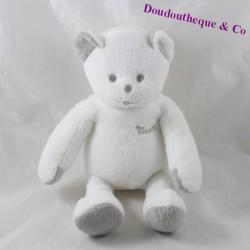 MUSTI grey mustela bear doudou 18 cm