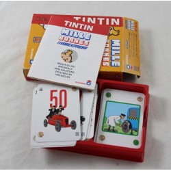 Game Tintin Mille Bornes Express Dujardin 2-4 players