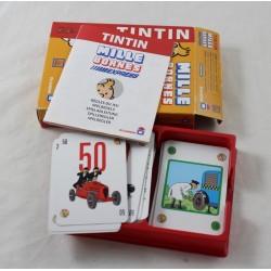Jeu Tintin Mille Bornes Express Dujardin 2-4 joueurs