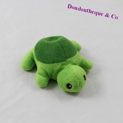 Mini plush turtle NATURE PLANET green 13 cm