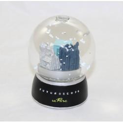 Snowball FUTUROSCOPE Park 3 pavilions snow globe 12 cm