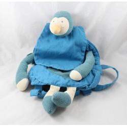 Sac à dos canard MOULIN ROTY Les cousins du moulin  bleu sac maternelle