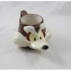 3D Mug Vil the coyote STARLINE Warner Bros. Looney Ceramic Tunes 2001