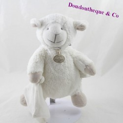 Doudou lamb DOUDOU AND COMPAGNY My tiny mole white sheep