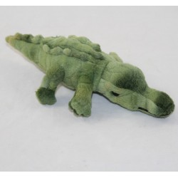 Mini plush crocodile THE FERME IN CROCODILES Gavial of Nepal green 19 cm