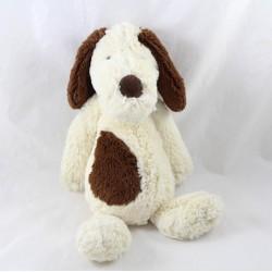 JELLYCAT Bashful Mutt white brown dog towel 31 cm