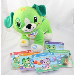 Interactive dog cub LEAP FROG lits with scout - 5 green pounds