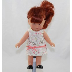 Mini Corolline doll COROLLE red dish dress 20 cm