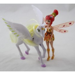 Figure Yuko and Onchao MATTEL Mia and Me Unicorn Fairy Doll Mia - Me