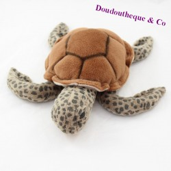 Red green sea turtle brown shell 30 cm