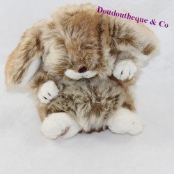 Rabbit Graham BUKOWSKI beige brown 15 cm