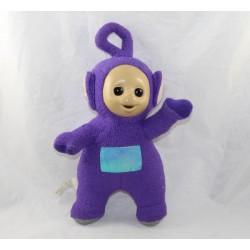 Vintage towel Tinky Winky TELETUBBIES purple fixed eyes 29 cm