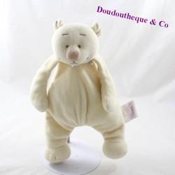 Doudou bear NOUKIE'S Tonton beige bell 24 cm