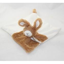 Doudou flat rabbit HAPPY HORSE Rabbit Tuttle white beige 24 cm