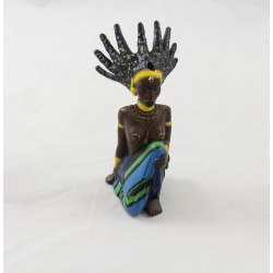 Witch figure Karaba KIRIKOU plastic 2005 knees