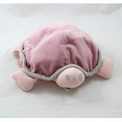 Peluche bouillotte Snoggy tortue DOOMOO rose micro-ondes