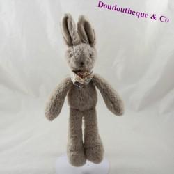 Doudou rabbit JELLYCAT bandana blooms with beige grey neck 29 cm