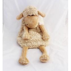 Plush sheep ETAM range Pajamas doudou bouillotte 54 cm