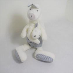 ZARA HOME bear plush beige micro balls 28 cm