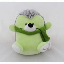 Doudou hedgehog A-DERMA green wool scarf pharmacy 20 cm
